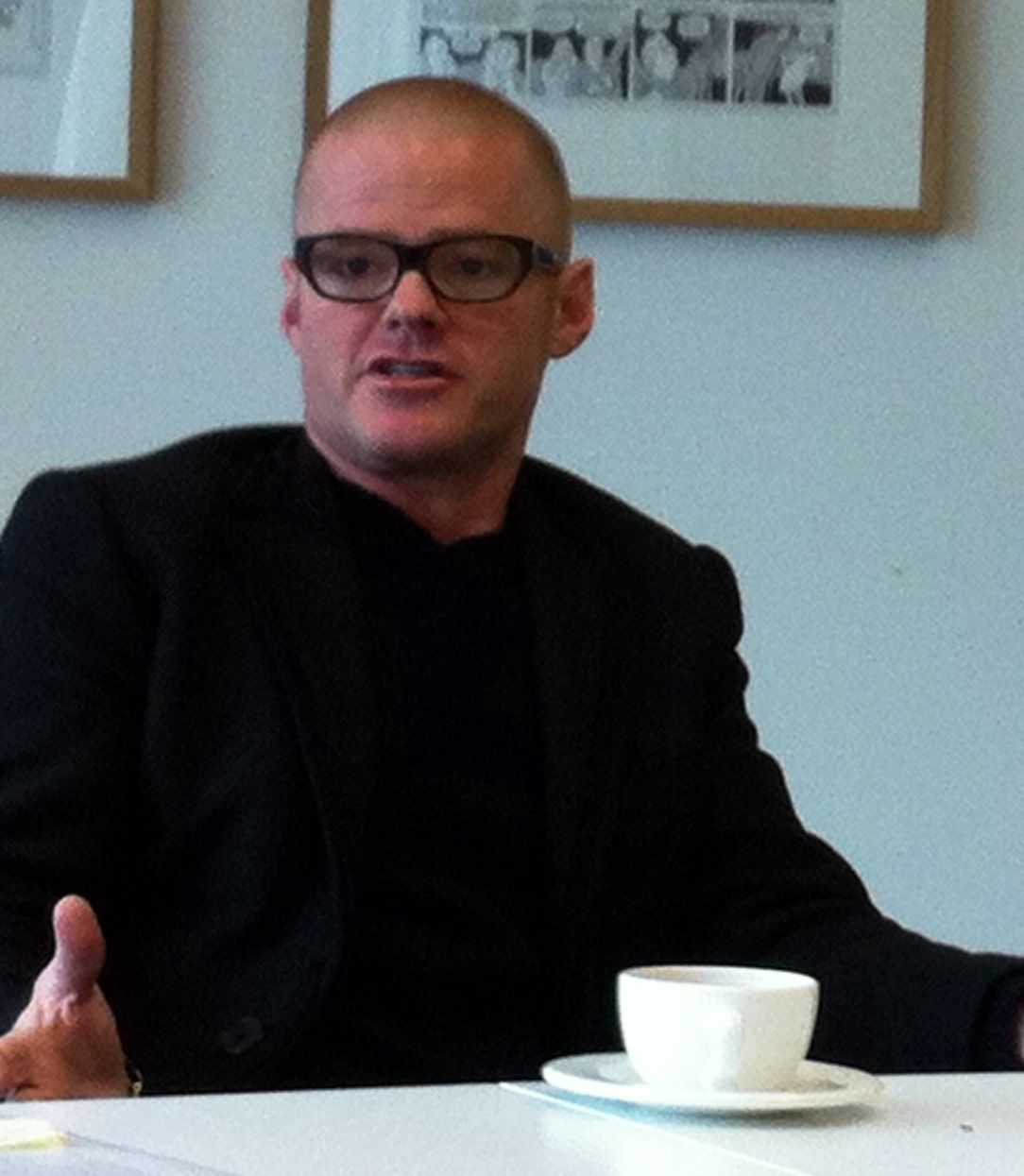 Macsween | Jo meets Heston Blumenthal.